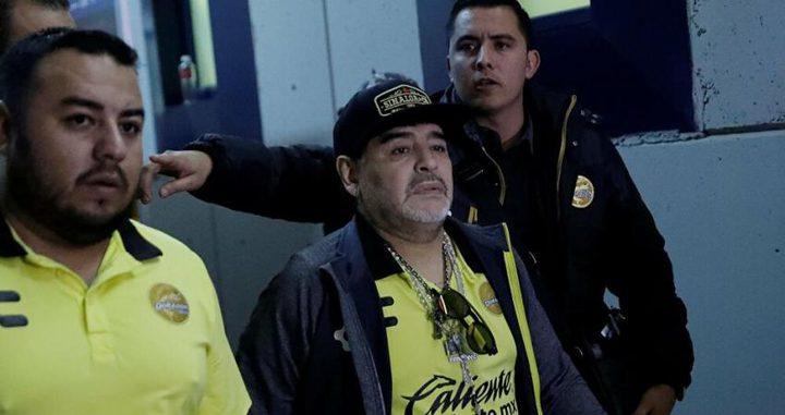 تسجيل صوتي يكشف تفاصيل مثيرة عن وفاة مارادونا