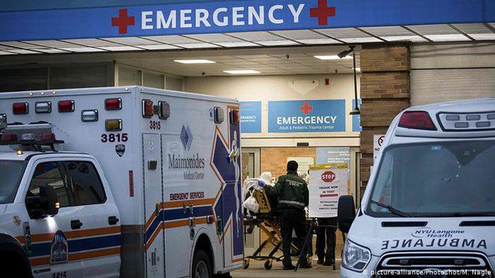 تسجيل أكثر من 2.4 ألف حالة وفاة خلال 24 ساعة في الولايات المتحدة