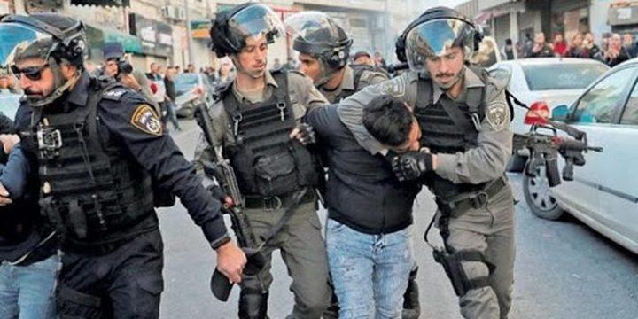 القدس: الاحتلال يعتقل مواطنا من حي باب حطة