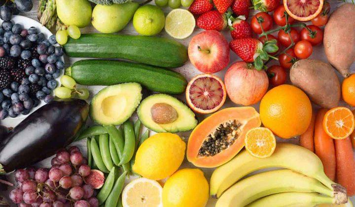 دراسة تتحدث عن فوائد تناول الخضار والفاكهة يومياً
