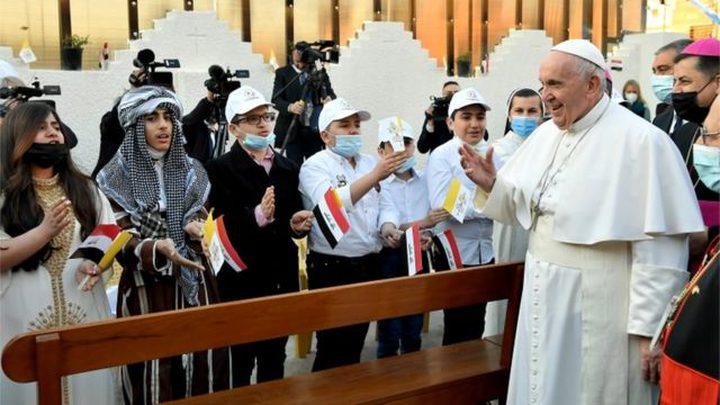 الرئيس الأمريكي يعلق على زيارة البابا فرنسيس للعراق