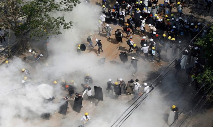 تصاعد الاحتجاجات في ميانمار