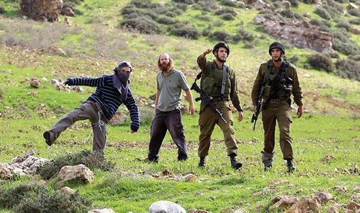 مستوطنون يطلقون النار صوب طفلين شرق يطا