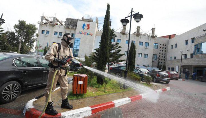 بلدية البيرة تقرر إنشاء مستشفى ميداني في المدينة