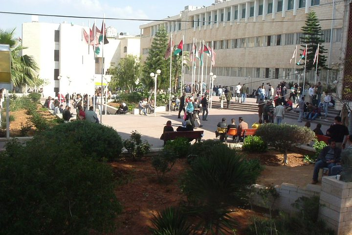 صور لمرافق جامعة النجاح الوطنية الحرم القديم عامي 2003 و 2004