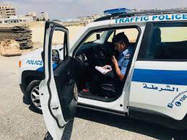 الشرطة تحرر مخالفة سلامة عامة في أريحا