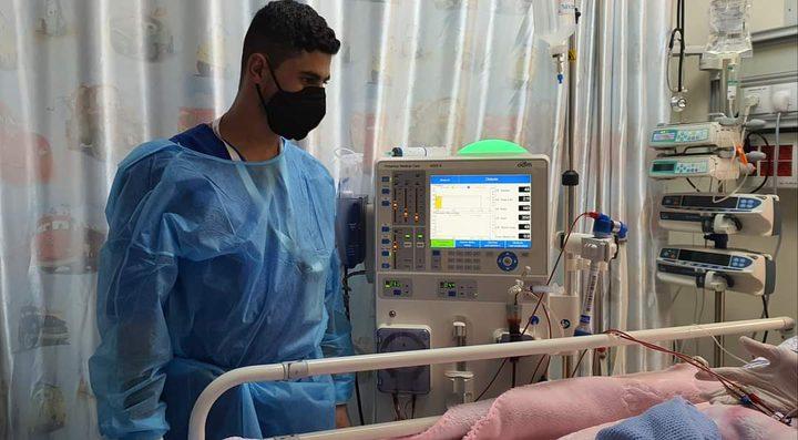لأول مرة في مستشفى النجاح..إجراء غسيل دموي لطفلة بوزن 5 كيلو ونصف