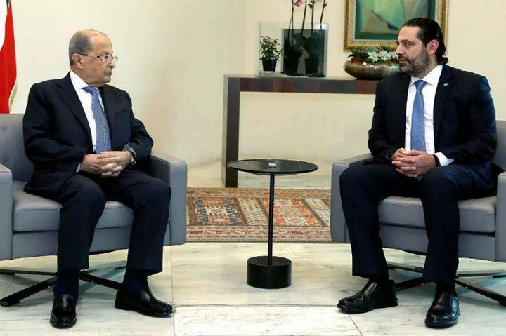 عون يدعو الحريري للتنحي عن تشكيل الحكومة اللبنانية