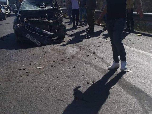 مصرع مواطن وإصابة سبعة آخرين بحادث سير