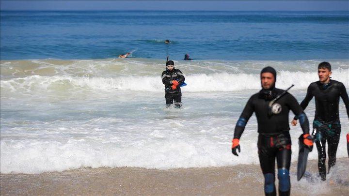 غزة: العثور على جثة قذفتها أمواج البحر على شاطئ دير البلح