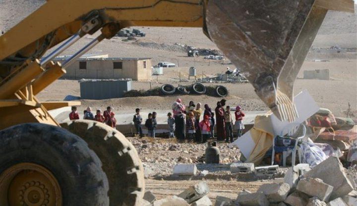 الاحتلال يهدم قرية العراقيب للمرة 185 على التوالي