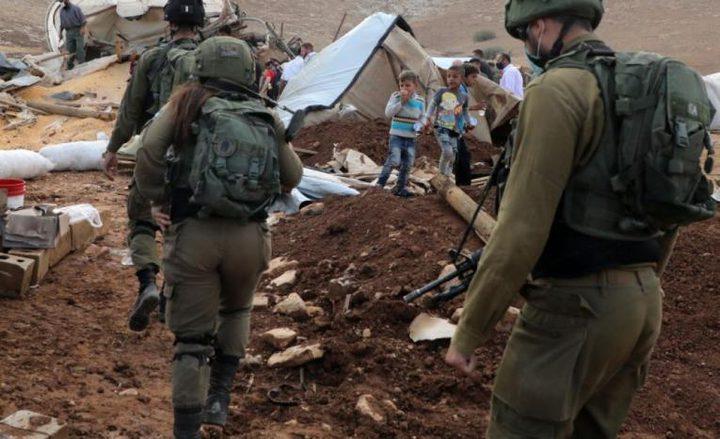 الاحتلال يقتحم خربة حمصة الفوقا ويطارد مركبة أحد المواطنين