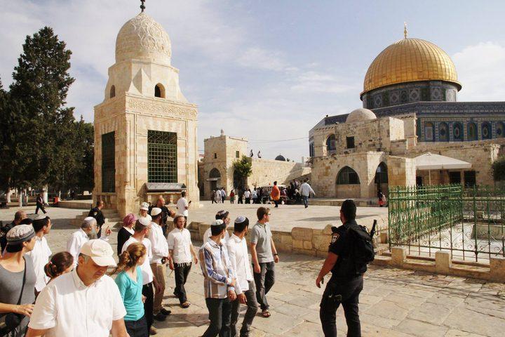 """دعوات يهودية لاقتحام واسع للأقصى بعيد """"الفصح"""""""