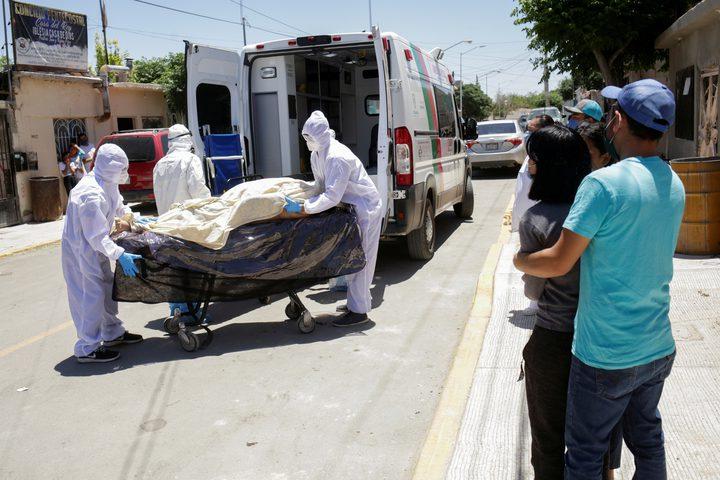 وفيات كورونا في المكسيك أعلى بـ60% من المعلن