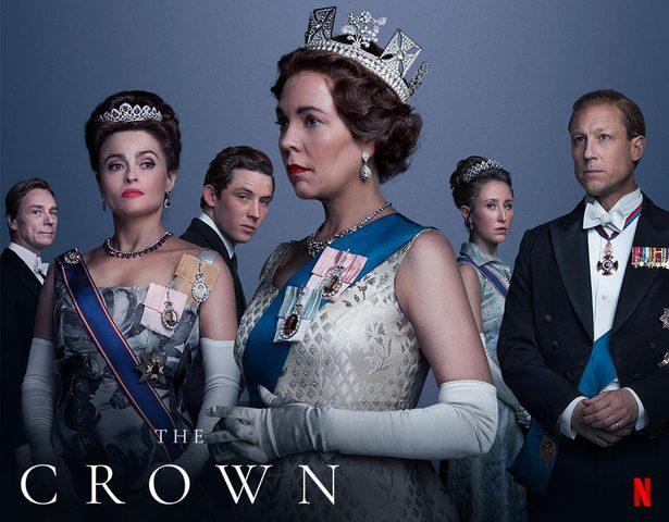 هاري وميغان في سلسلة احداث مسلسل (The Crown)