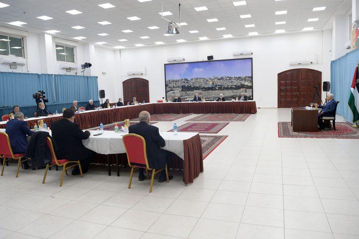 """اللجنة المركزية لحركة """"فتح"""" تعلن أنها في حالة انعقاد دائم"""