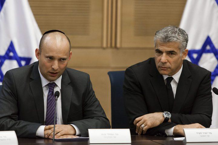 لبيد وبينيت يتفقان على عقد مشاورات ثانية لبحث إمكانية التحالف
