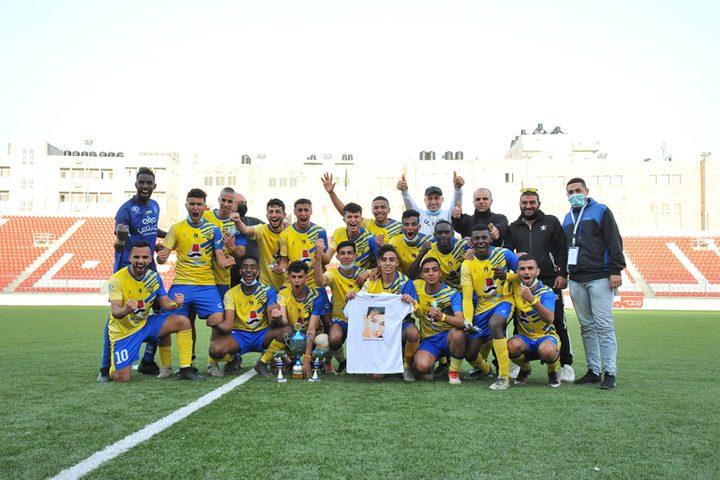 مركز طولكرم يفوز بلقب دوري الشباب المركزي