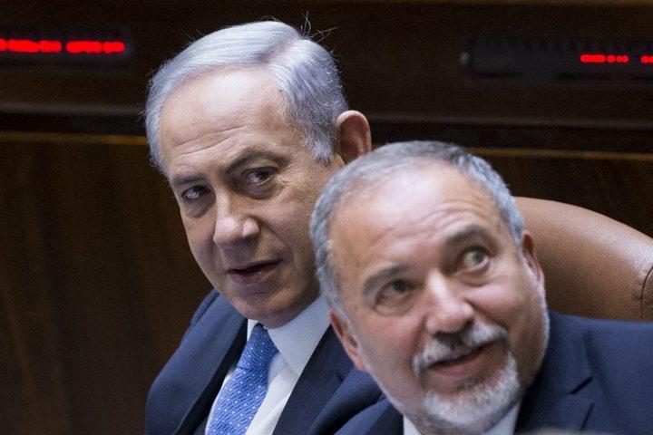 ليبرمان يطالب بسن سلسلة قوانين تمنع نتنياهو من رئاسة الحكومة