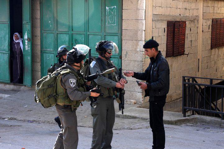 اعتقال مواطن من أبو ديس ومداهمة منازل جنوب جنين