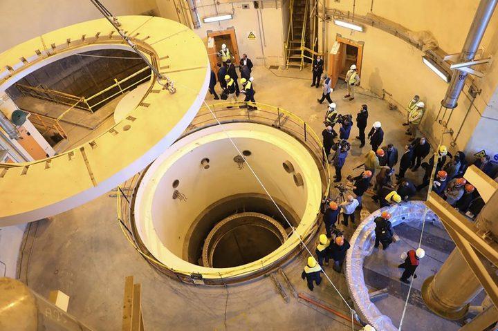 إيران تشغل القطاع الثاني لإنتاج الماء الثقيل في مفاعل أراك النووي