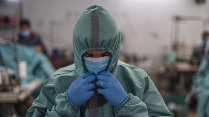 غزة: 10 وفيات و1064 إصابة جديدة بفيروس كورونا