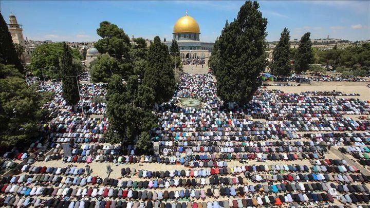 انتهاء الاستعدادات لاستقبال شهر رمضان في المسجد الأقصى