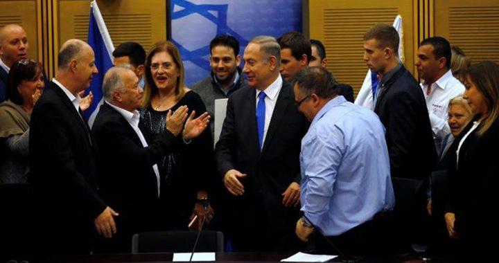نتنياهو يعين طاقمه لمفاوضات تشكيل حكومة الاحتلال الجديدة