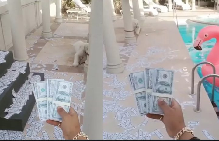 محمد رمضان يبرِّئ نفسه و يوضح حقيقة فيديو رمي الدولارات