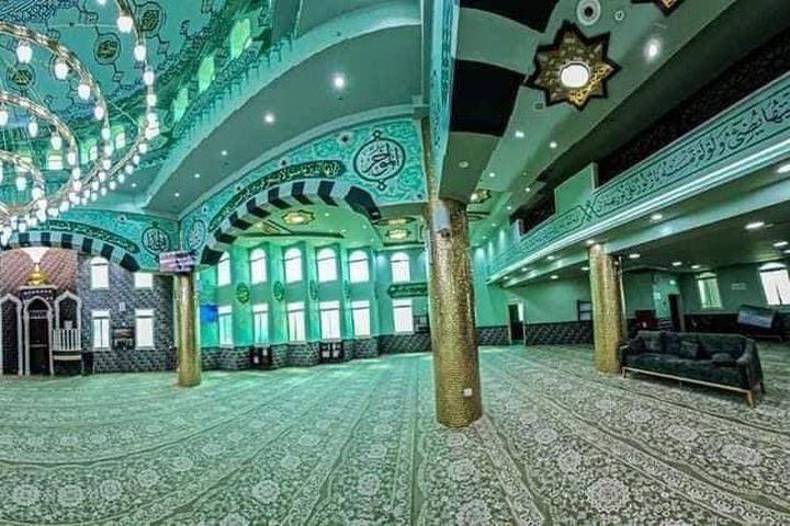 مسجد عمر بن الخطاب في البعينة نجيدات بالداخل الفلسطيني المحتل  تصوير: علاء دلاشه