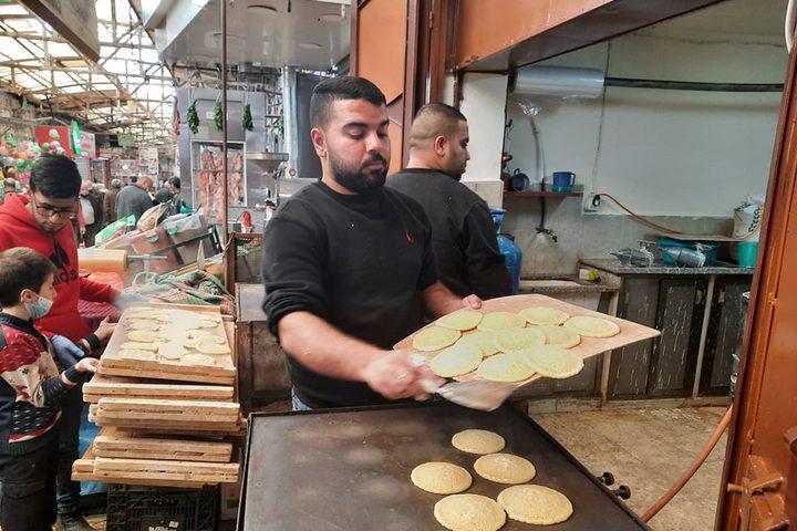 أجواء مدينة نابلس في أول أيام شهر رمضان المبارك.