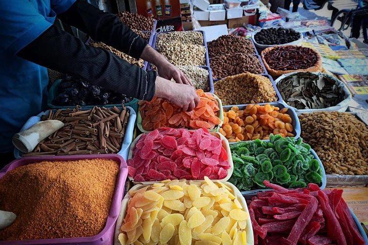 سوق خان يونس في أول أيام شهر رمضان المبارك