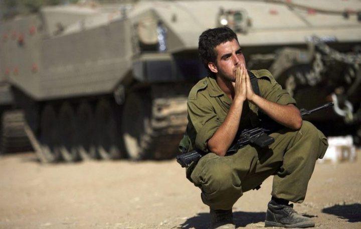 جندي إسرائيليشارك في معركة الشجاعيةيحرق نفسه