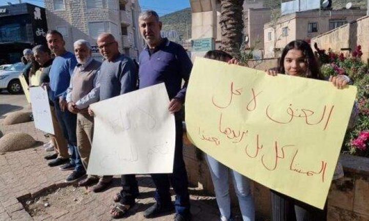 الطيرة: احتجاج على جرائم القتل