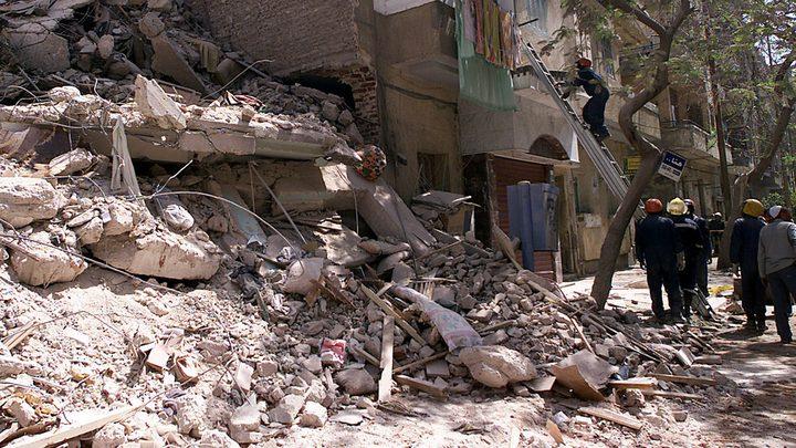 مصر .. قتلى وجرحى جراء انهيار مبنى سكني بالدقهلية