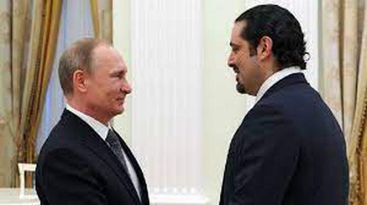 بوتين يؤكد موقف روسيا الداعم لسيادة لبنان