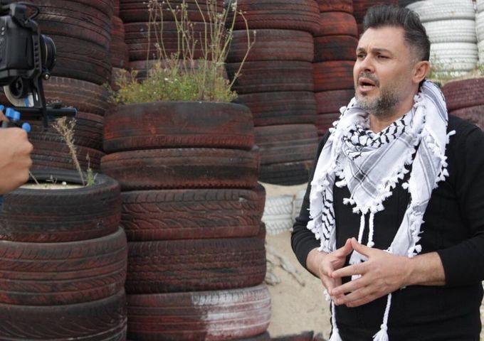 الفنان ربيع الأسمر يوجه رسالة للأسرى الفلسطينيين