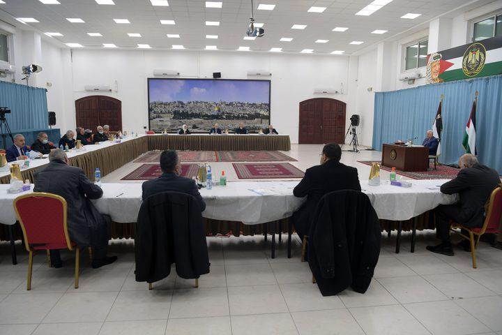 التنفيذية تدعو العالم لحث الاحتلال على عدم عرقلة الانتخابات