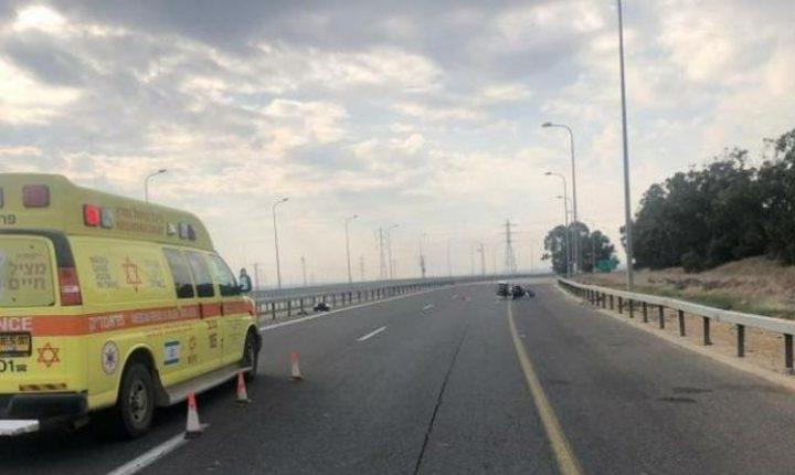 مصرع مواطن في حادث قرب نتانيا