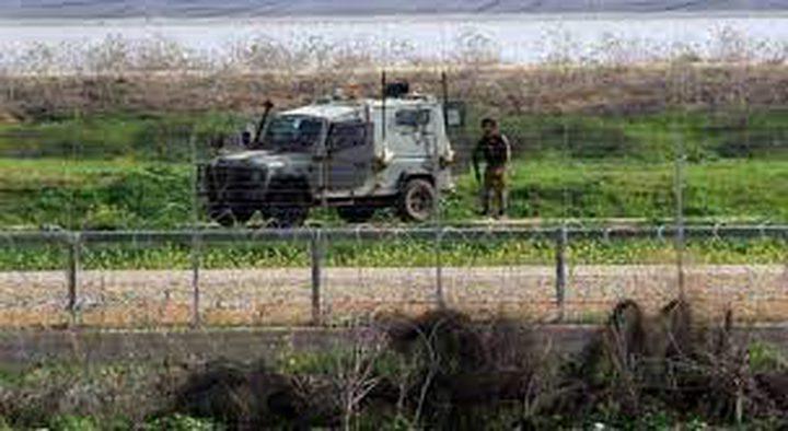 الاحتلال يطلق النار على الاراضي الزراعية شرق خان يونس