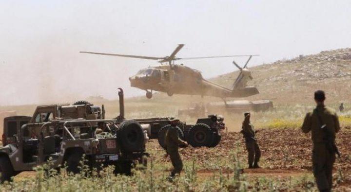 مناورات عسكرية إسرائيلية واسعة بغلاف غزة اليوم