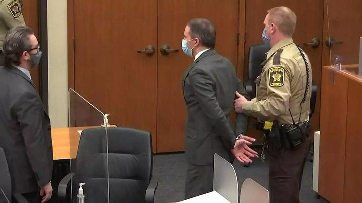 إدانة الشرطي قاتل جورج فلويد بالتهم الموجهة إليه