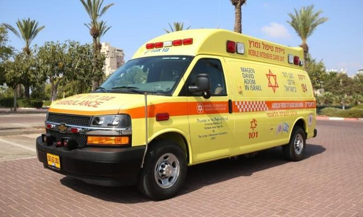 إصابة خطيرة في حادث طرق بيافا