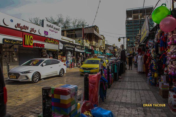 جانب من الأجواء الرمضانية في مدينة طولكرم- تصوير إيمان يعقوب