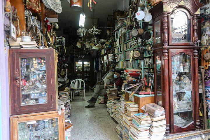 سوق الزاوية بمدينة غزة