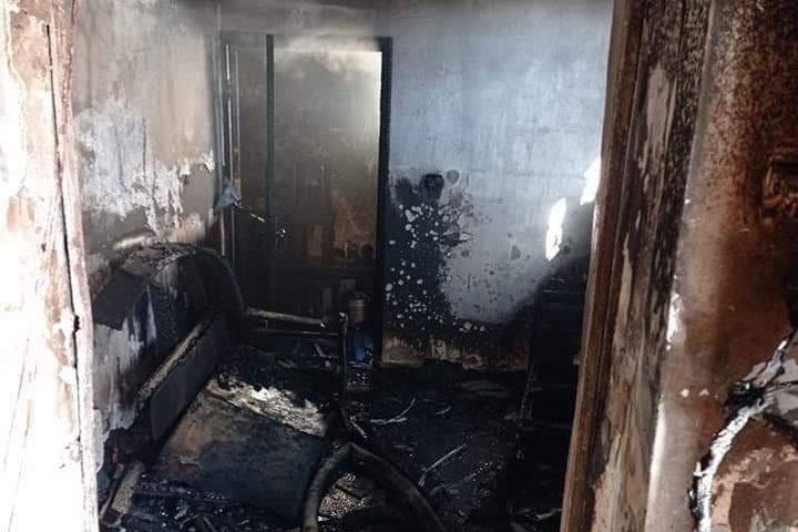 وفاة أم وأطفالها الثلاثة في قرية صرة غرب نابلس إثر حريق في المنزل نجم عن تماس كهربائي