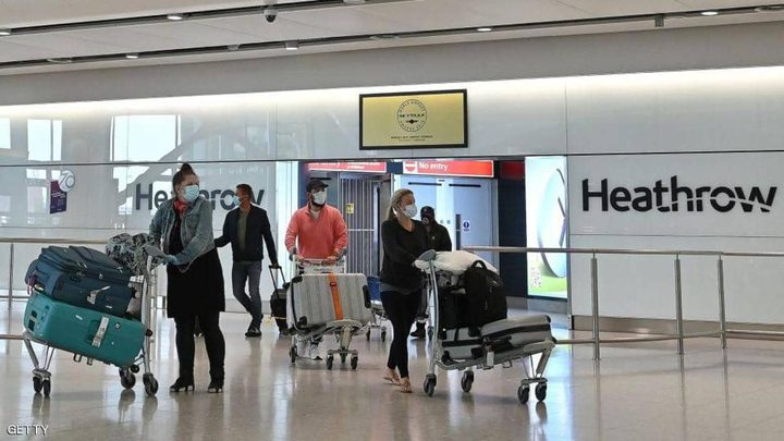 """بريطانيا تحدد موعد إطلاق """"جواز سفر كورونا"""""""