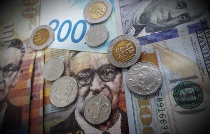 أسعار  صرف العملات مقابل الشيكل اليوم الجمعة