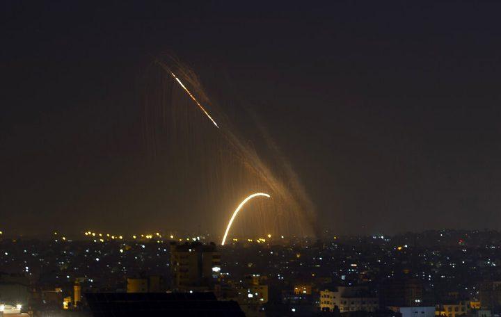 الاحتلال يزعم اطلاق قذيفة صاروخية من قطاع غزة