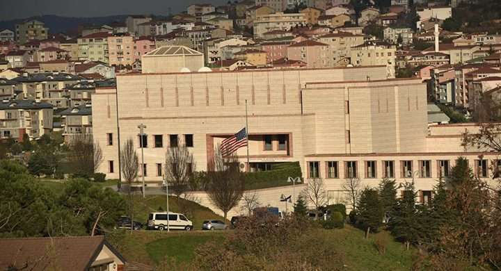 إغلاق سفارة أمريكا وقنصلياتها في تركيا